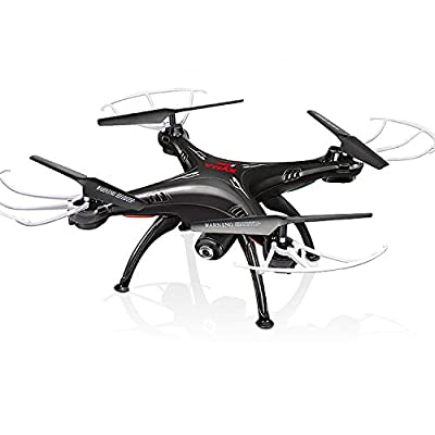 Cheerwing Syma X5SW-V3 FPV 2.4Ghz 4CH 6-Axis Gyro RC Headless Quadcopter Drone UFO with HD Wifi Camera (Black) from Cheerwing