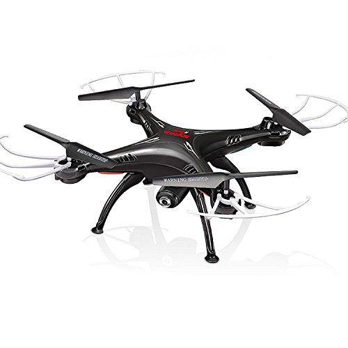 Cheerwing Syma X5SW-V3 FPV 2.4Ghz 4CH 6-Axis Gyro RC Headless Quadcopter Drone UFO with HD Wifi Camera (Black) by Cheerwing