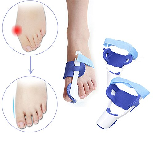DatC - Sports & Outdoor - 1 Pair Bunion Care Corrector Hallux Valg Straightener Orthopedic Braces Strap Big Toe Bone Tool - 1PCs (Halloween Duos For Couples)