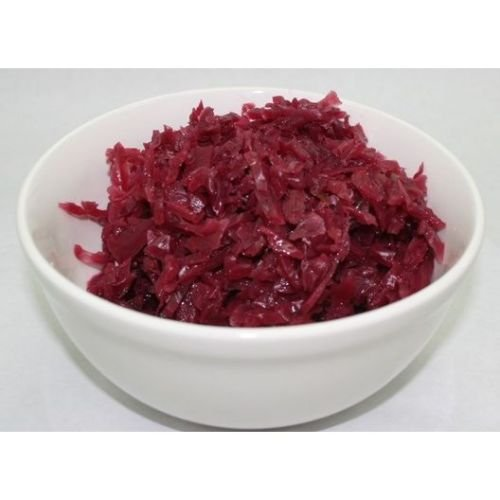 Lohmann Sweet & Sour Red Cabbage - No. 10 can, 6 cans per - Cabbage Red Apple And