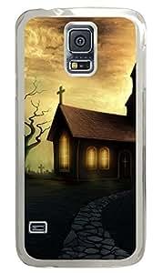 meilz aiaiMoon House Clear Hard Case Cover Skin For Samsung Galaxy S5 I9600meilz aiai