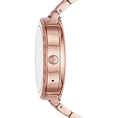 kate spade watches Pink IP Scallop Touchscreen Smartwatch by kate spade watches