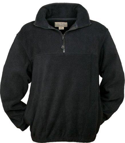 Colorado Timberline Steamboat Fleece Pullover Black - Zip Quarter Pullover Fleece