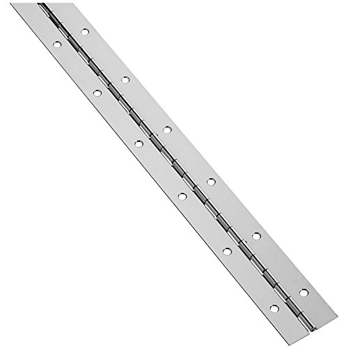 National Hardware N148-486 V570 Continuous Hinge in Nickel