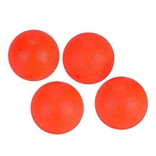 Fishing Lure Float Balls,100Pcs EPS Foam Buoyancy Ball Fishing Float Bobbers Drift Ball Strike Indicator Fishing Tackle Foam Indicator (6#(12mm))