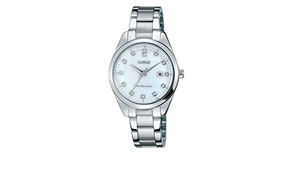 Amazon.com: Lorus Klassik RJ241BX9 Wristwatch for women Design Highlight: Lorus: Watches