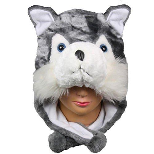 husky-us-sellerwarm-hat-short-flaps-winter-fluffy-plush-gift-beanie