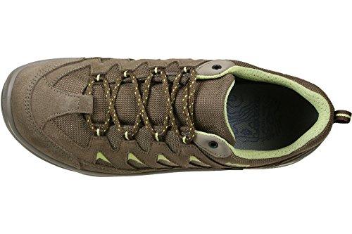 Lowa Levante GTX Lo W Calzado para senderismo marrón amarillo