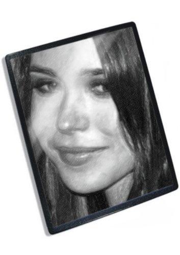 Original Actress Signed - ELLEN PAGE - Original Art Mouse Mat (Signed by the Artist) #js004