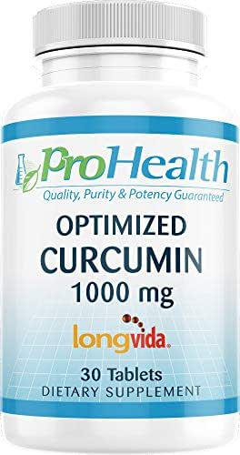 ProHealth Optimized Curcumin Longvida (1000 mg, 30 Tablets)