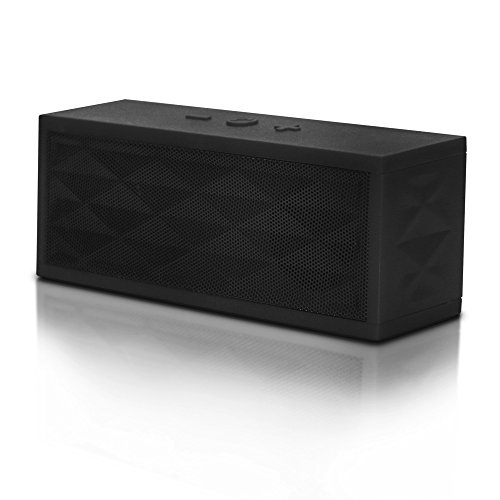 table Wireless Speaker with Powerful Sound for Bluetooth Enabled Digital or Media Devices - Black ()