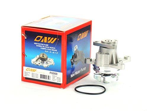 OAW F6000 Engine Water Pump for Ford Lincoln Mercury Mazda 2.3L 2.5L & 2.0L Turbo 2001-2014 (Mazda 6 Water Pump)