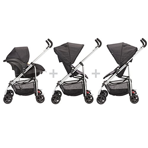 Evenflo Round Trip Travel System, Glenbarr Grey