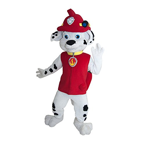 Mascots Costumes Canada (PAW PATROL MARSHALL DOG MASCOT COSTUME ADULT SIZE)