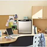 Danby 1.6 Cubic Feet Compact Refrigerator-Stainless Steel Look