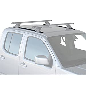 Yakima Whispbar Q7 Custom Roof Rack Tracks - 1600mm, 2 pcs, Black