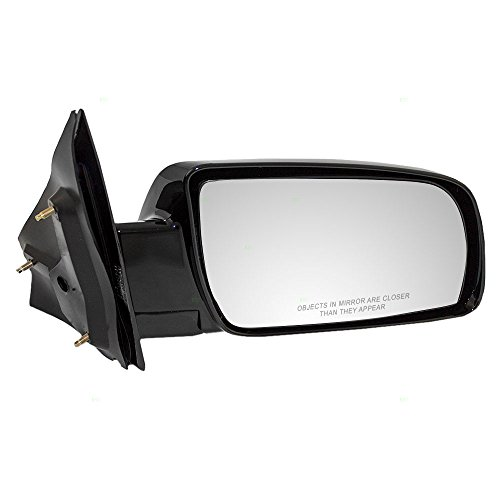 Passengers Manual Side View Below Eyeline Mirror Ready-to-Paint Replacement for Chevrolet GMC Van 15757378 AutoAndArt