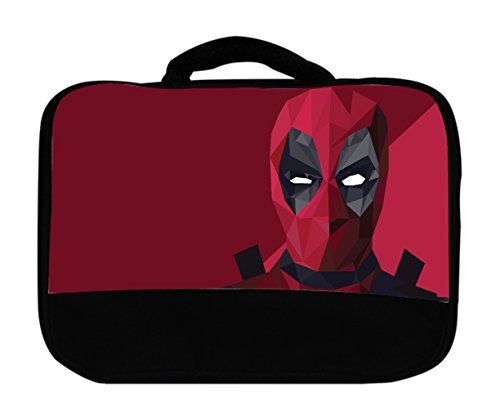 Polygon Comic Book Hero Design Canvas Lunch Bag by egeek amz by egeek amz