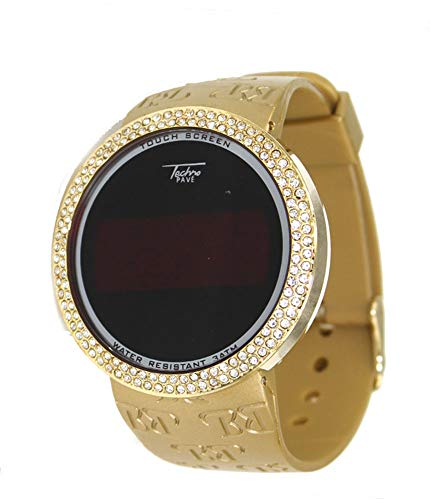 watches techno pave silicon band - 3