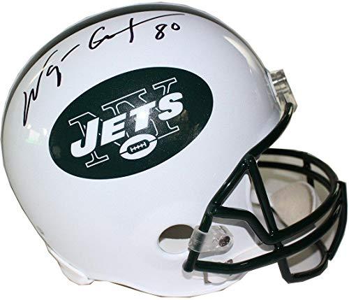 Wayne Chrebet New York Jets Signed Full Size Replica Helmet - Steiner Sports Certified - Autographed NFL Helmets