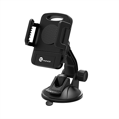 TaoTronics Car Phone Mount Holder, Windshield / Dashboard Universal Car Mobile Phone...