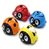 Spinnorika Spin Tops for Kids Mini Spinning Tops Set (4 Tops, 4 Rings, 4 Cones, battlestage)