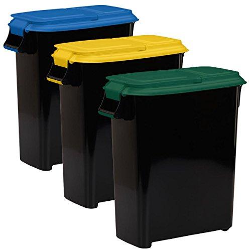 Buddeez Recycling Containers 12 5 Gallon 50 Quart