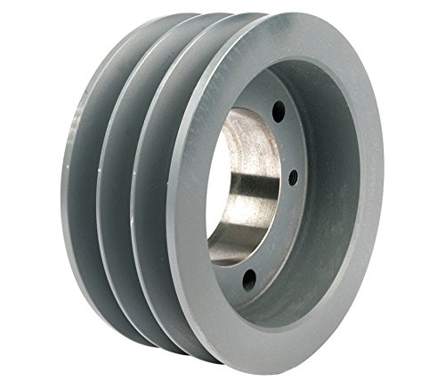 """UPC 663001177579, 14.40"""" OD Three Groove Pulley / Sheave for """"C"""" Style V-Belts (bushing not included) # 3C140-E"""