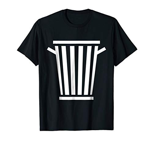 (Garbage Can Costume T shirt Funny Halloween)