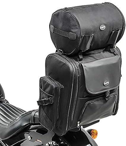 Bolsa Respaldo SXL para Harley Davidson Sportster Forty-Eight 48 / Special, Street Glide/Special, Street Rod / 750, V-Rod/Muscle