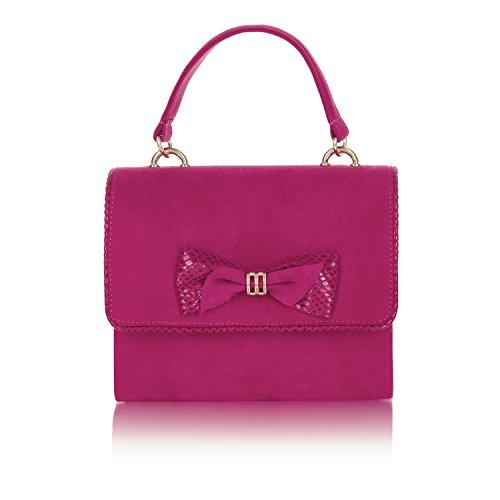 Ruby Og Fuchsia Shoo Mali Bag Sko Matchende Pumper Kvinners Domstol Cordelia rrqwYP4