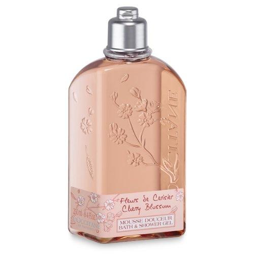 L'Occitane Cherry Blossom Bath & Shower Gel, 8.4 fl. (Delicate Bath Gel)