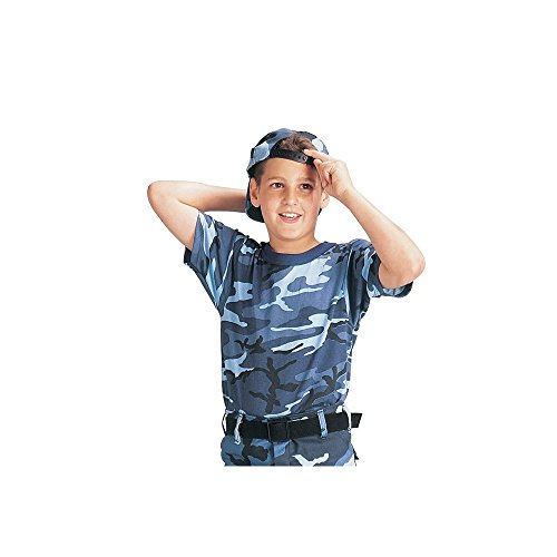 (Kids Camouflage T-Shirt, Sky Blue Camo, Medium by Rothco)