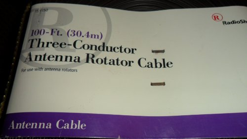 RadioShack 100-Ft. (30.4) Three-Conductor Antenna Rotator Cable