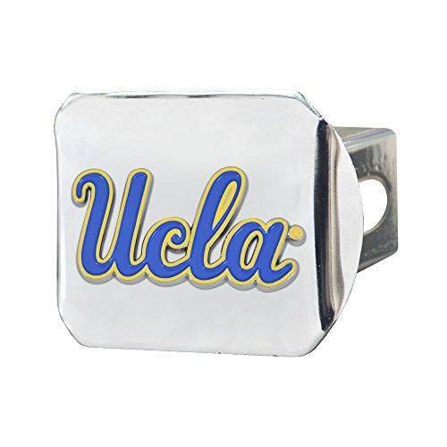 University Bruins Ucla (Fanmats NCAA UCLA Bruins University of California - Los Angeles (UCLA) Color Hitch - Chrome, Team Color, One Size)
