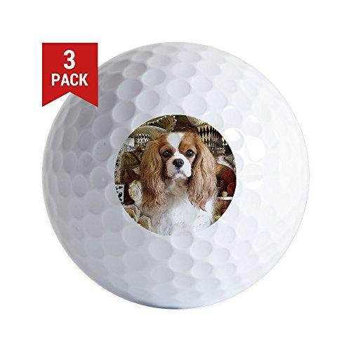 CafePress - Cavalier King Charles Spaniel - Golf Balls (3-Pack), Unique Printed Golf Balls