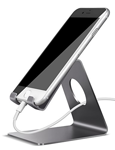 Lamicall Cell Phone Stand, Phone Dock : Cradle, Holder, Stand Compatible with Switch, All Android Smartphone,...