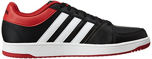 Homme Blanc Le pour Noir White Rouge Black Noir Vs adidas Core Basketball Ftwr Chaussures Power Red Hoops ntw08YtqS4