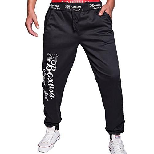 a21a33cd3849c outlet LIANIHK Hombres impresión Casual Harem Holgado Hip Hop Danza  Pantalones De Chandal