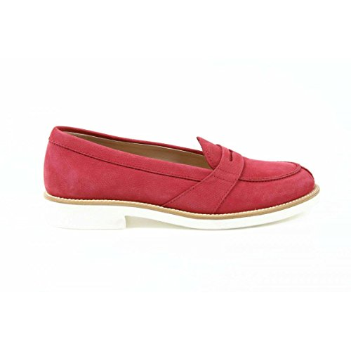 Tods ladies loafer XXW0VX0L7807XWR405 Red / 38 EUR - 7.5 US 254mm