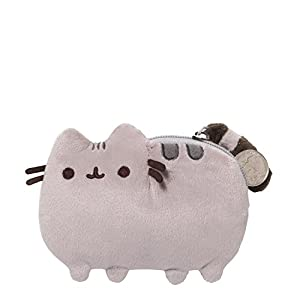 GUND-Pusheen-Cat-Plush-Stuffed-Animal-Coin-Purse-Gray-5