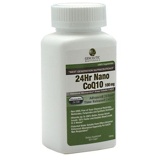 Genceutic Naturals Coq10 24Hr Nanao 60 Vcap