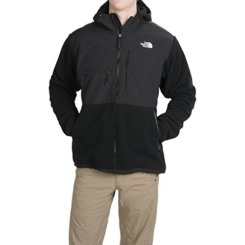 The North Face Denali Hoodie - Men's Recycled TNF Black XX-Large