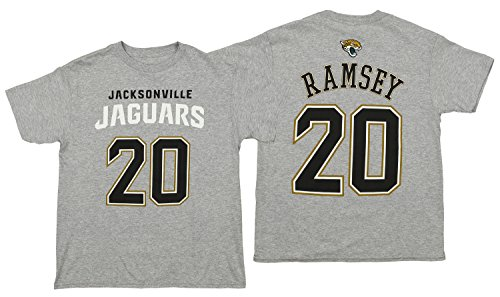 Outerstuff NFL Youth Jaguars Ramsey J SS TEE MAINLINER Flat -H.GSize M