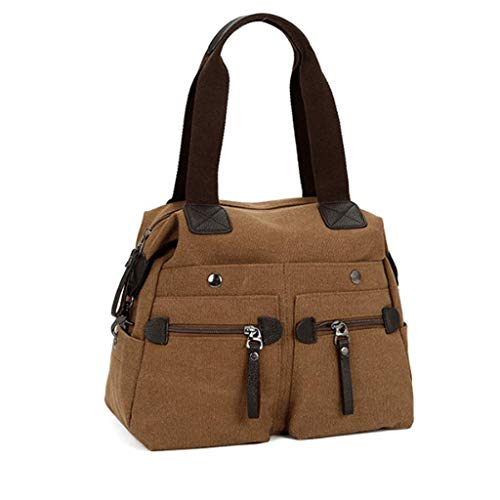 Donna S Brown Tracolla colore Per Dimensioni Rxf Multitasche Brown E A Uomo Borsa qzWxPW4wR0