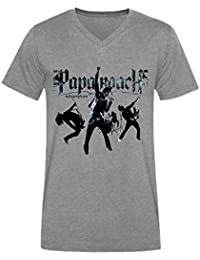 Men's Papa Roach Band Short V T-shirt