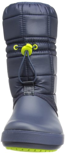 green navy Apple Crocs Women 5 Bleu Boot Winter Femme Crocbandtm Ii Bottes w1FqAv