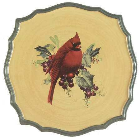 Lenox Winter Greetings Everyday Trivet Cardinal New by Lenox