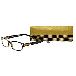 SAV Eyewear (Select-A-Vision) Victoria Klein Fashion Round Reading Glasses 9076 Brown, 2.75