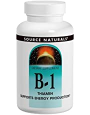 Source Naturals B-1 High Potency 500mg with Mag, 100 Tablets